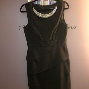 Connected Apparel little black dress size 10
